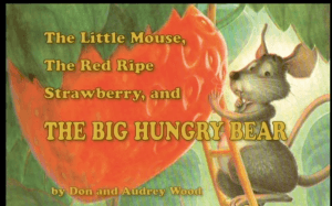 mouse and strawberry book