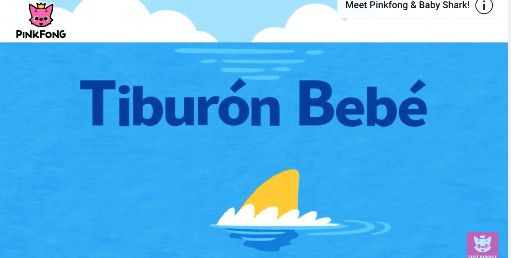Tiburon bebe song
