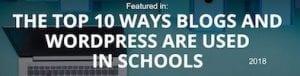 Edublogs Feature