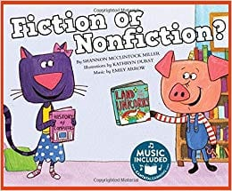 fiction or nonfiction book