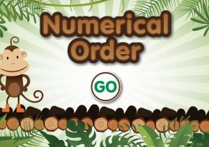 numerical order monkeys