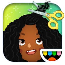toca hair salon app