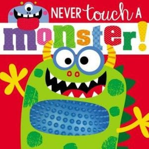 never touch a monster book