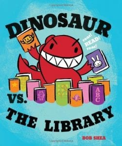 Dinosaur vs the LIbrary
