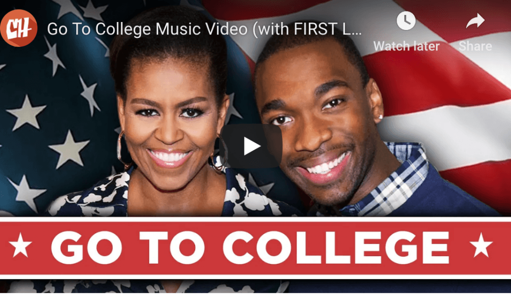 go to college song