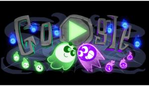 google doodle Hallow 2018