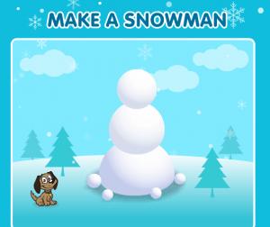 make a snowman