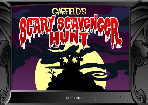 Garfield Scary Scavenger