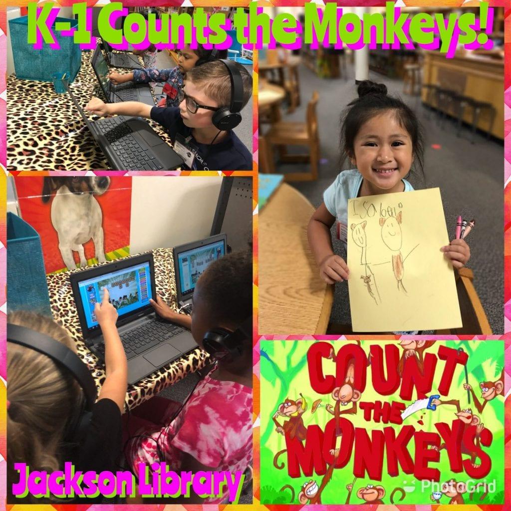 count the monkeys activities