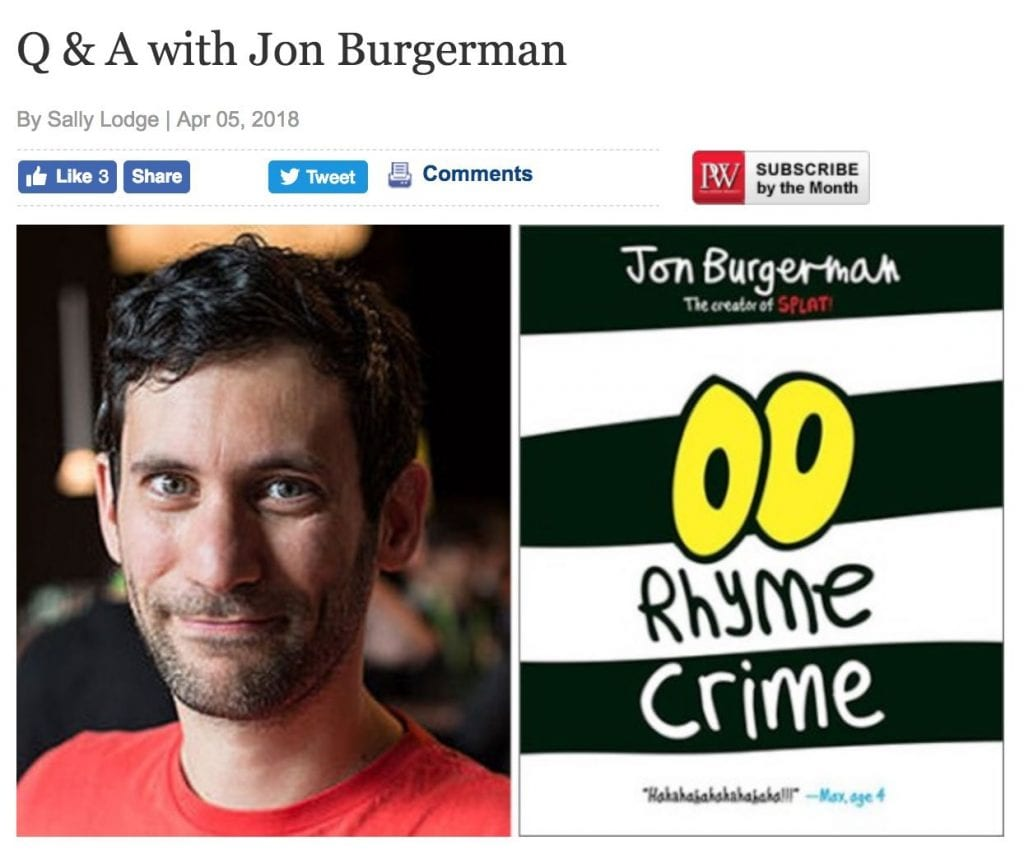 Q and A w Jon Burgerman