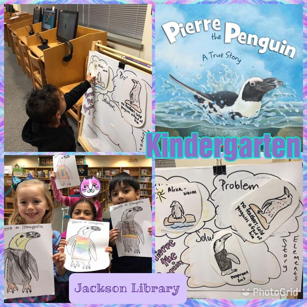 Pierre the Penguin lesson