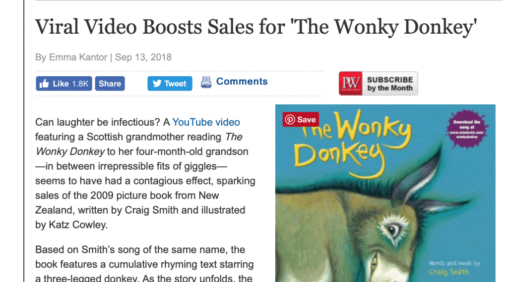 viral video boosts sales article
