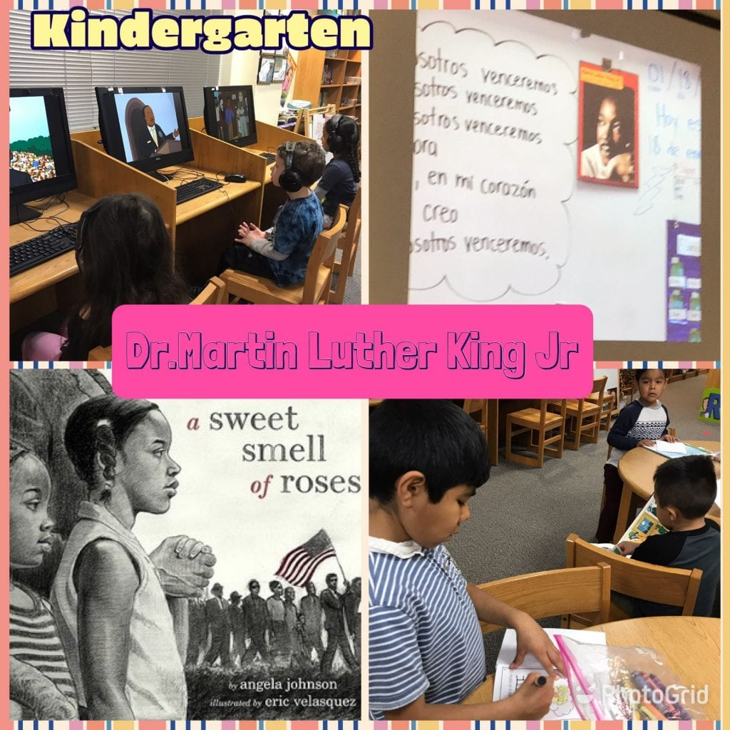 MLK Jr activities for kindergarten