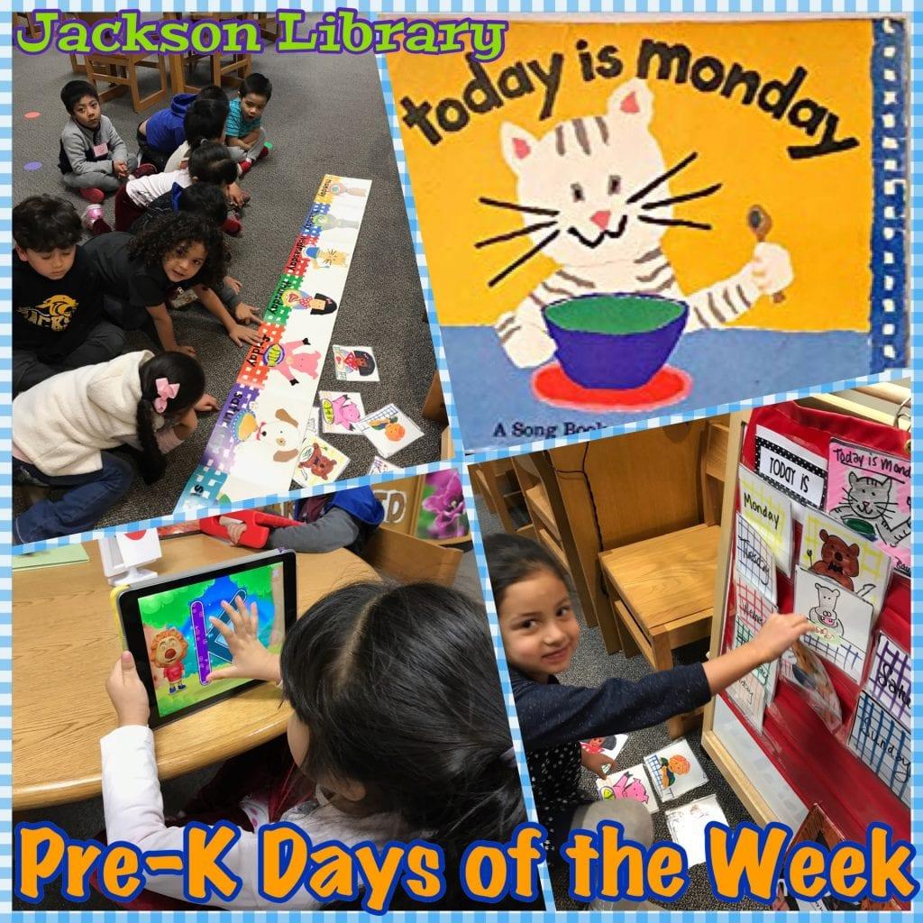 Pre K days of the week