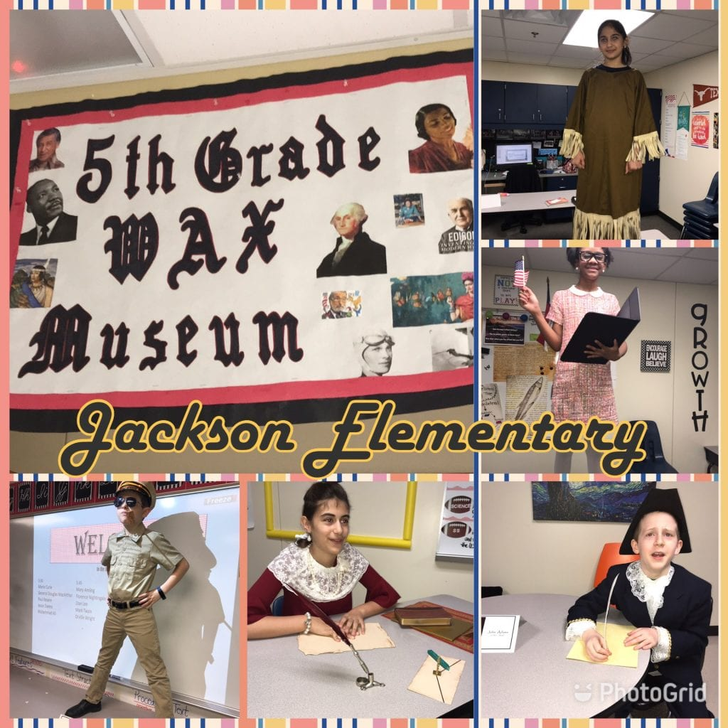 fifth grade wax museum