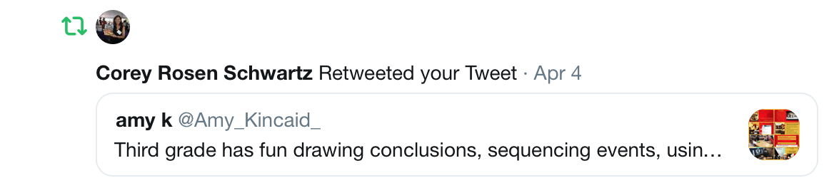 corey Rosen schwartz tweet