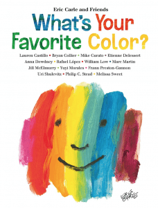 What's Your Favorite Color book