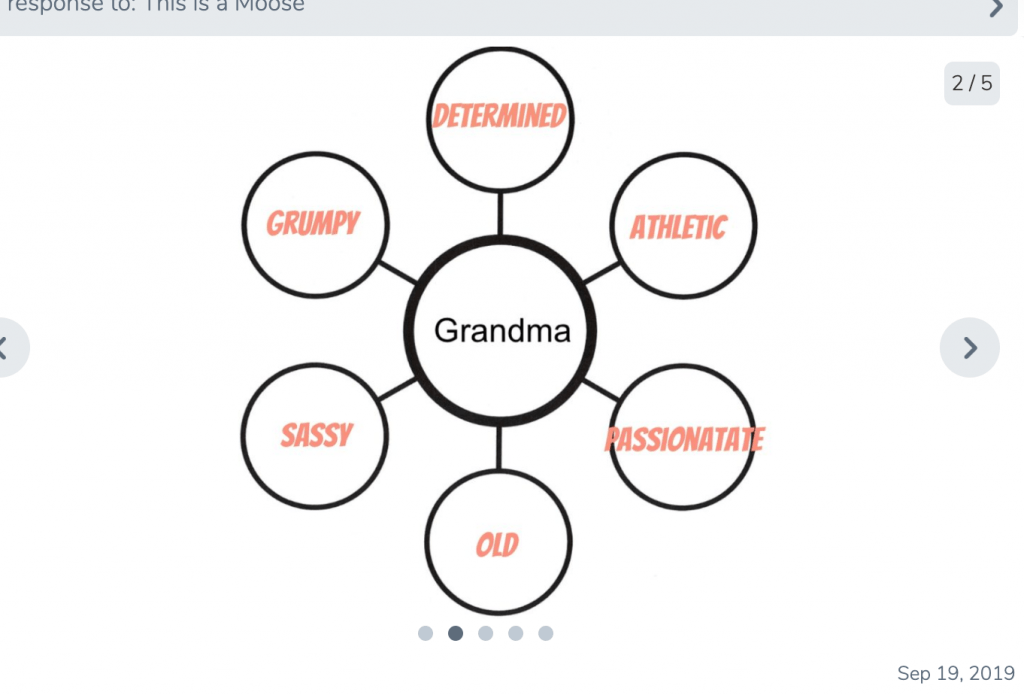 grandma bubble map