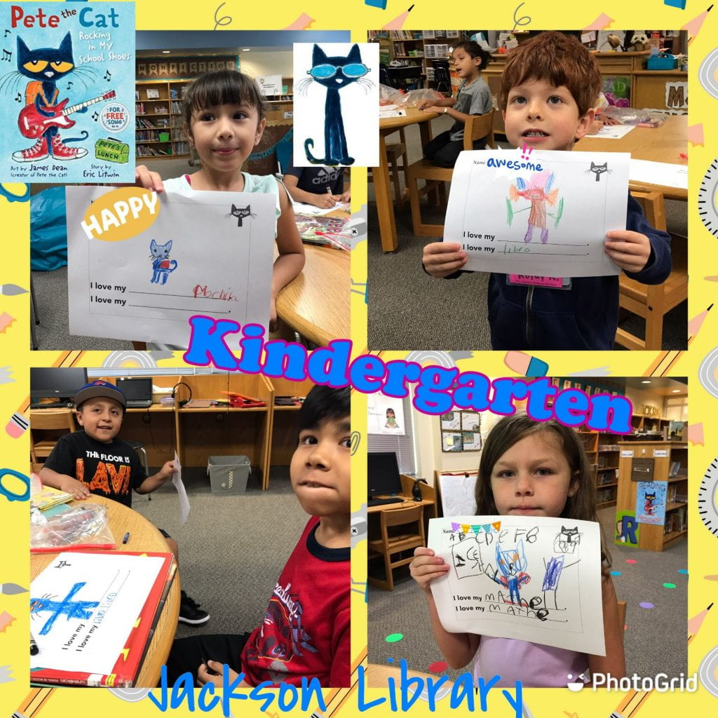 pete the cat - kinderg
