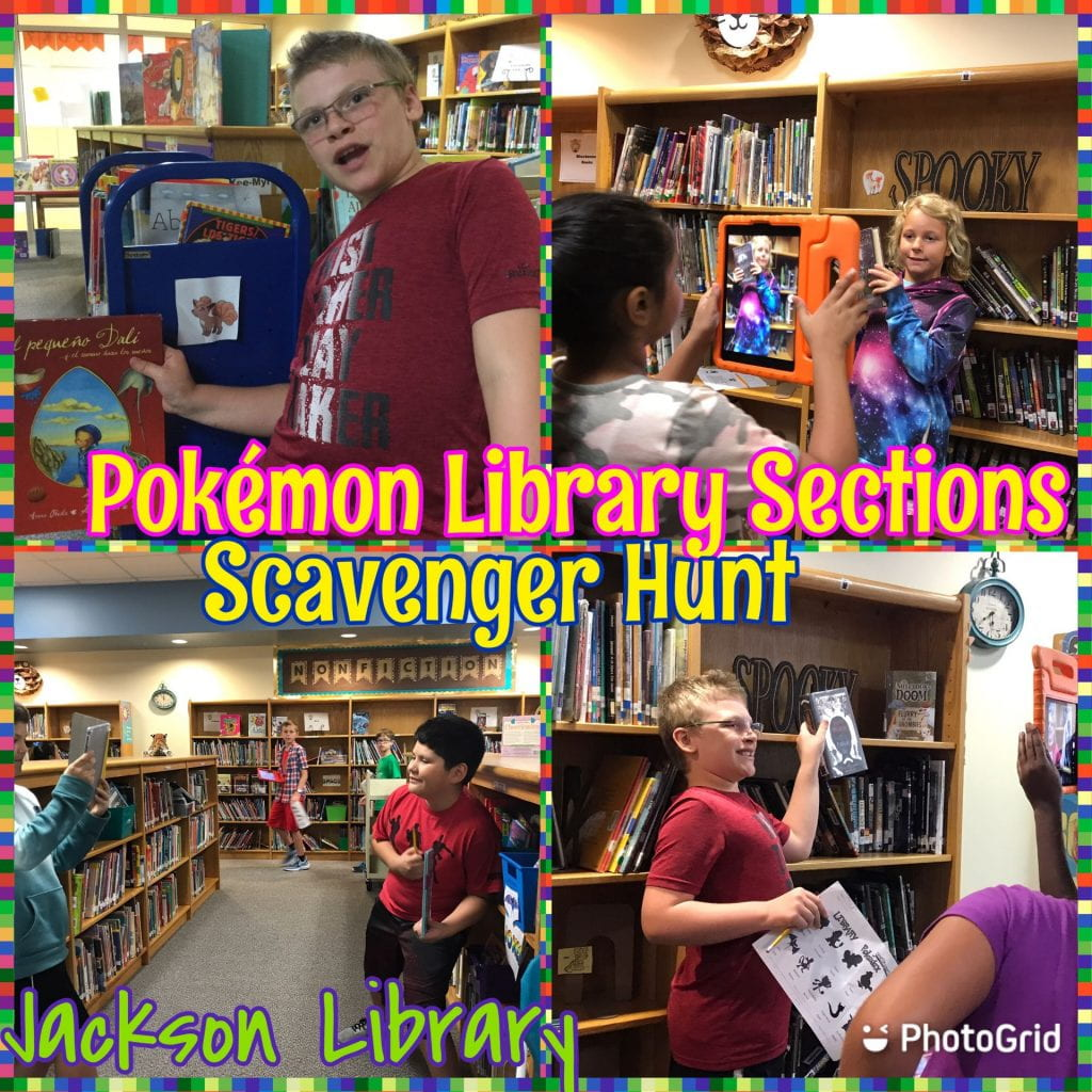 pokemon library orientaiton