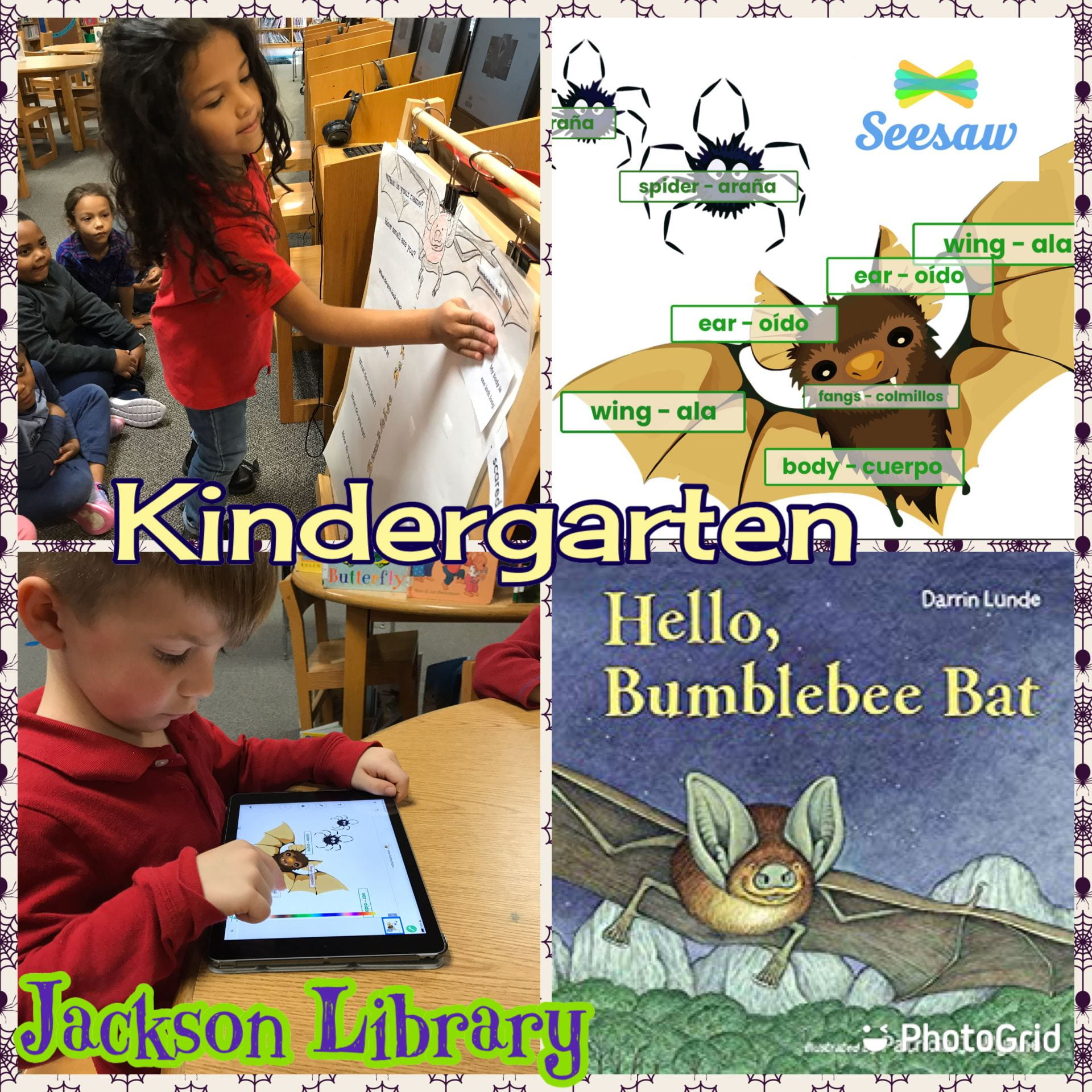 Bumblebee Bat Seesaw lesson