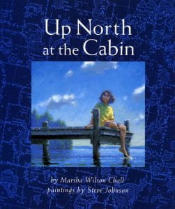 up north at the cabin book
