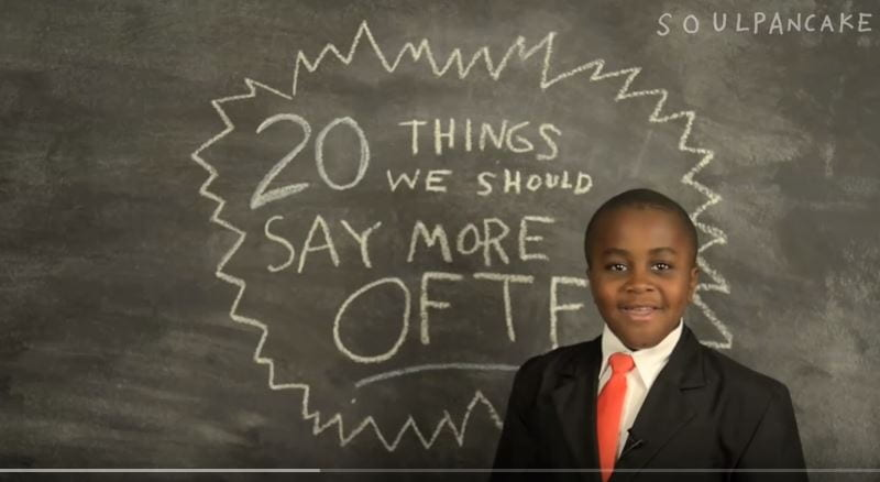 23 things we should say more often
