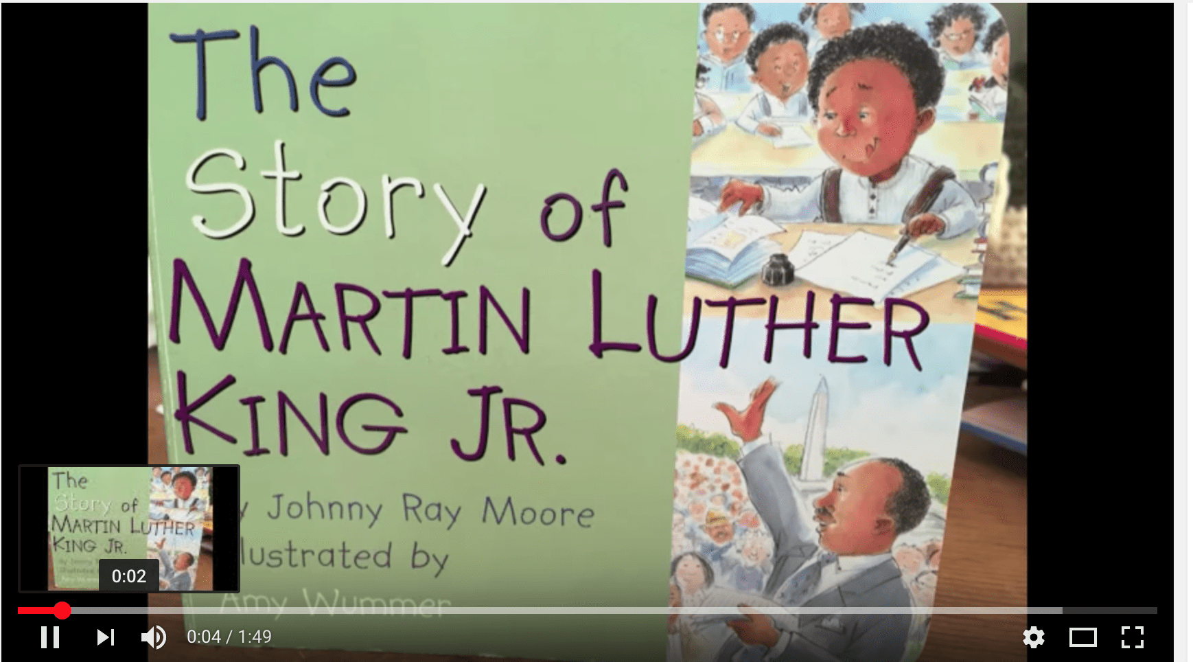 Story of MLK Jr- primary