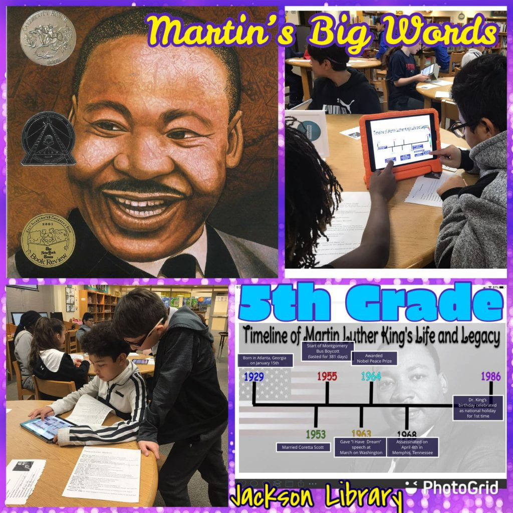 MLK Martin's Big Words lesson