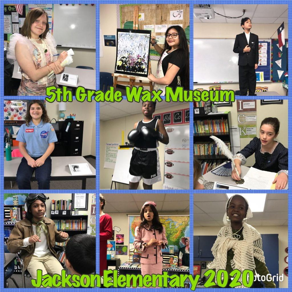 5th grade wax museum