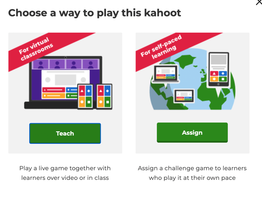 Kahoot synchronous or asynchronous