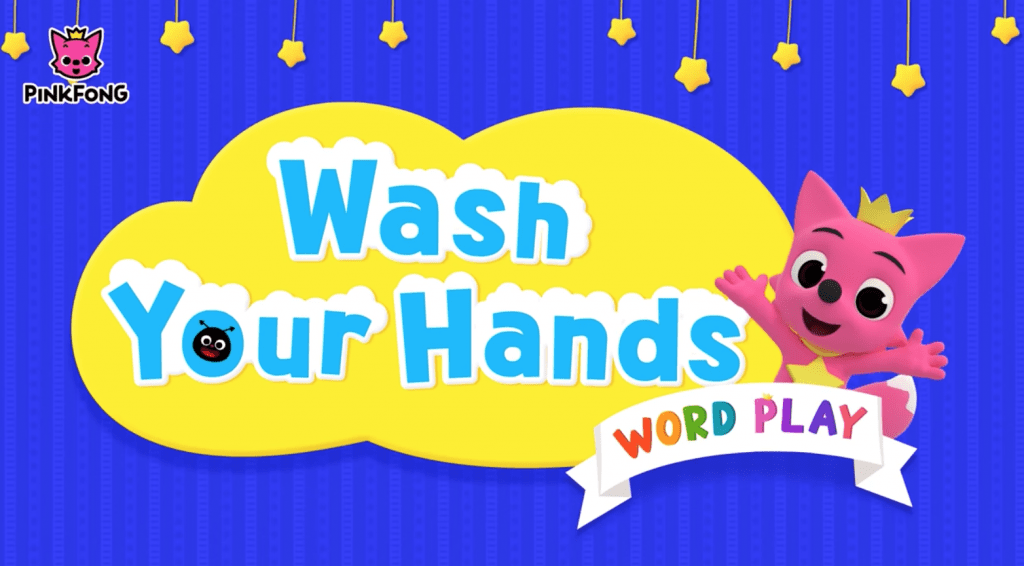 pinkfong wash hands