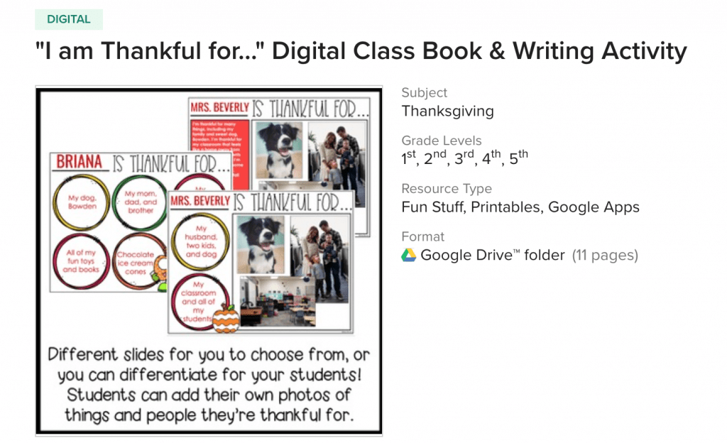 thankful virtual