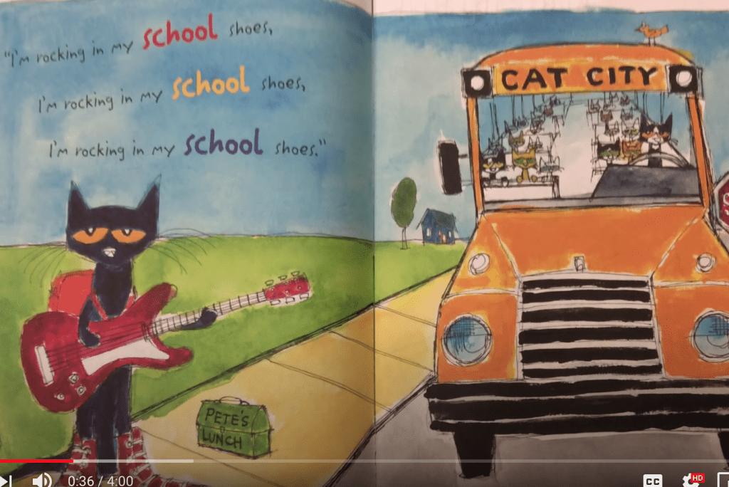 Pete the Cat- School Shoes