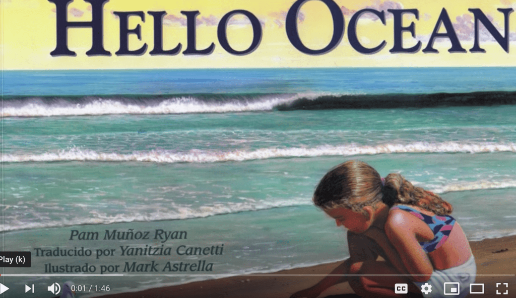 bilingual Hola Mar/Hello Ocean