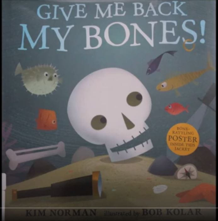 bones book video