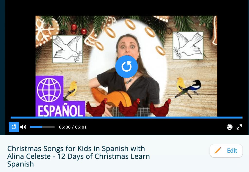 12 D of C Spanish