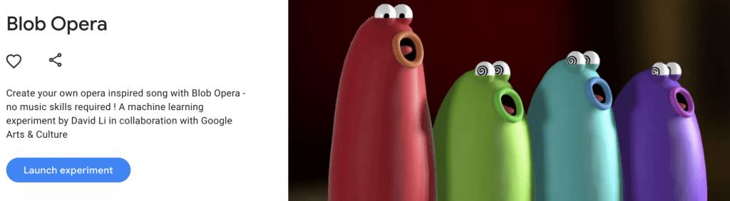 blob opera