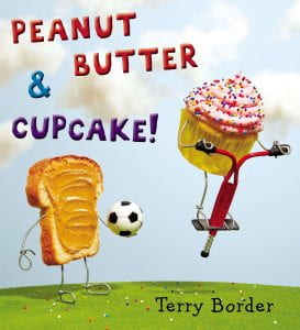 peanut butter and cupcake book